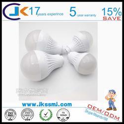 生产E27系列灯具套件 LED球泡灯塑料外壳套件图片