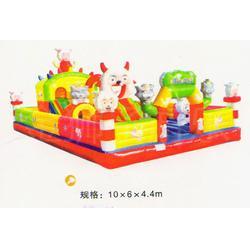 大型充气城堡多少钱,四川充气城堡,金狮王子游乐(查看)图片