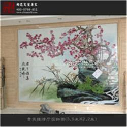 厂家定制手绘陶瓷壁画图片