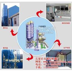 防火材料干粉砂浆生产线_全自动_干粉砂浆图片