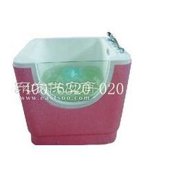 婴儿游泳池设备厂家供单面玻璃彩灯亚克力婴儿游泳池戏水池图片