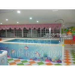 供应设计精巧组装灵活可组装移动儿童游泳池拼接游泳设备图片