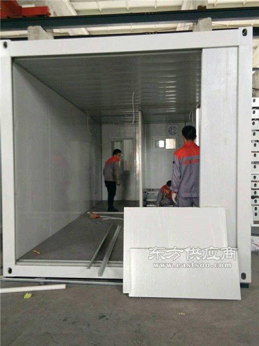打包箱房屋制作|北京打包式箱房选捷维诺|通州打包箱房屋图片