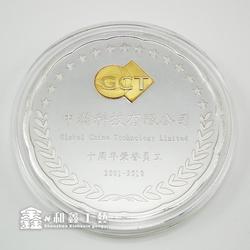 鑫和鑫_抗美援朝银质纪念章定制厂家_南宁银质纪念章定制图片