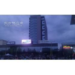 P16户外超亮显示屏点亮斯洛伐克广场图片