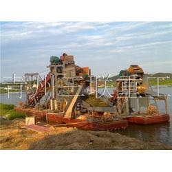 采金船、三联重工设备(已认证)、单抽单进采金船图片