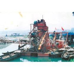 北京淘金船-绞吸式淘金船-恒圣矿沙机械(多图)图片