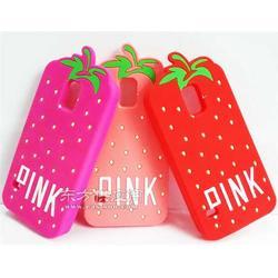 草莓硅胶手机套 卡通硅胶套 滴胶手机套厂家图片