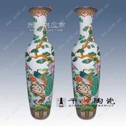 粉彩陶瓷大花瓶陶瓷大花瓶生产厂家图片