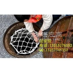 云曲南靖窨井防护网防坠网厂家,电力燃气污水井盖防护网作用图片
