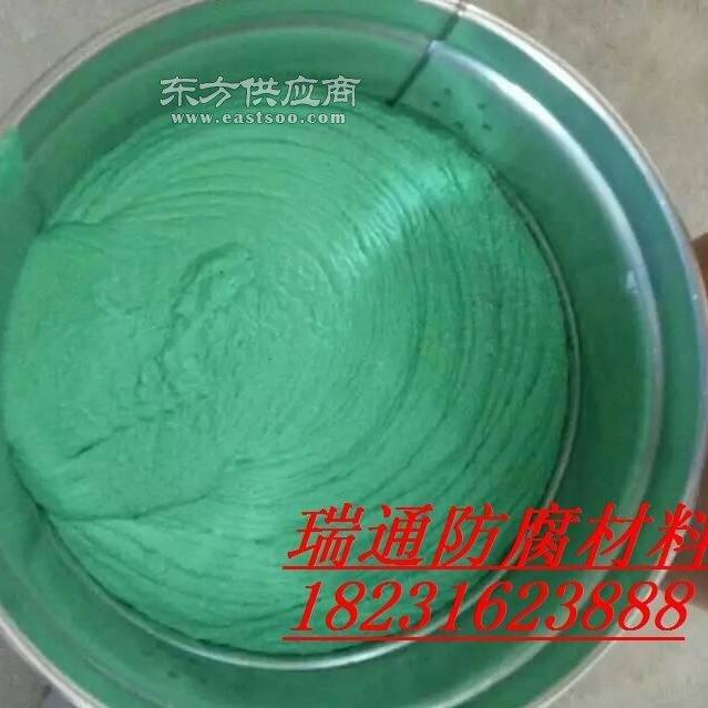 脱硫塔防腐胶泥 树脂玻璃鳞片胶泥图片