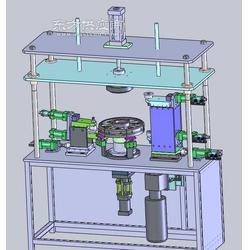 卷圆翻边机-洗衣机生产设备-尚诚科技图片