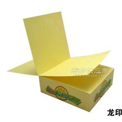 荧光纸,彩胶纸,便利贴,纸砖订做,便利贴厂家图片