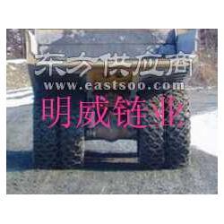 供应25.5-25施工轮胎防护链铲车防滑链图片