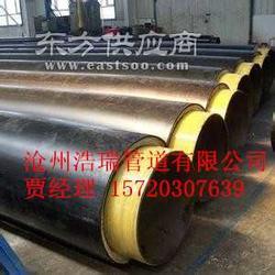 埋地钢套钢蒸汽保温螺旋钢管生产厂家图片