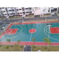 网球球场地面铺设,合泰体育器材(已认证),球场地面图片