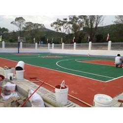 球场地面工程_合泰体育器材_塑胶跑道球场地面工程图片