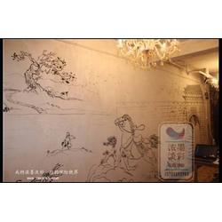 浓墨淡彩墙体喷绘(图)、郑州墙体喷绘、墙体喷绘图片