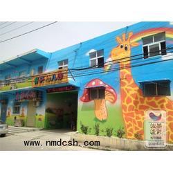 浓墨淡彩(图),开封幼儿园墙体彩绘,墙体彩绘图片