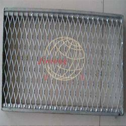 脚踏钢板网片-菱形孔拉伸网-地铁建设脚踏钢板网片图片