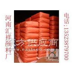 建筑用铁红 水泥用铁红 超细易分散氧化铁红颜料图片