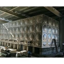 消防不锈钢水箱-阳泉不锈钢水箱-鑫科力不锈钢水箱厂家图片