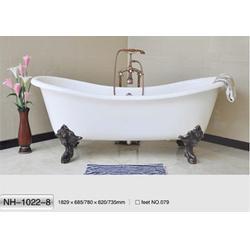 南海卫浴(图)|长方形铸铁浴缸|铸铁浴缸图片