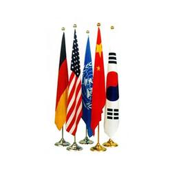 公司旗帜制作-旗帜典范展华旗帜厂(已认证)吉林公司旗帜图片
