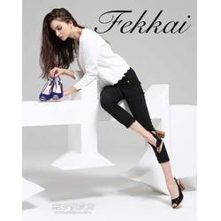 粗跟凉鞋FEKKAI品牌凉鞋原单时尚凉鞋代理加盟图片