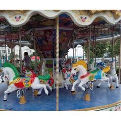 游乐设备旋转木马厂家、游乐设备旋转木马、凯龙游乐图片