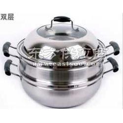 无磁不锈钢锅生产厂家_双多层不锈钢蒸锅图片