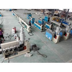 管材挤出机|生产塑料管的设备|青岛生产塑料管的设备图片