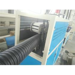 波纹管生产线,碳素管设备,PE电力波纹管生产线图片