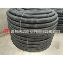 PE碳素波纹管生产线-牡丹江碳素波纹管生产线-青岛天信泰塑机图片