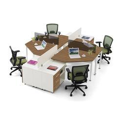 新款板式办公桌-板式办公桌-金世纪京泰家具(查看)图片