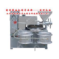 国研机械设备(图) 商用榨油机品牌 嘉兴商用榨油机图片