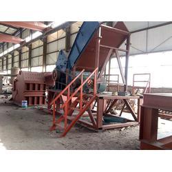汽油桶破碎机实拍图-丽江小型废铁破碎机-废铁破碎机出厂价格图片