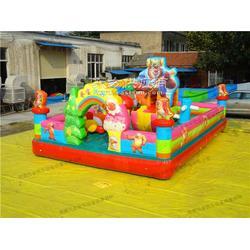 儿童充气玩具的知名生产厂家沃金游乐图片