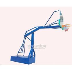 地埋篮球架给力钢化玻璃篮板供应新款图片