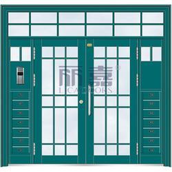 氟碳漆楼宇门生产厂家-丽嘉门业不容错过-氟碳漆楼宇门图片