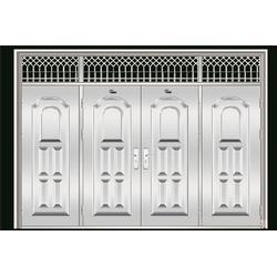 步胜门业造型多样,不锈钢拼接门,临沂拼接门图片