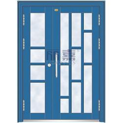 氟碳漆樓宇門-麗嘉門業堅持高品質-氟碳漆樓宇門廠家電話圖片