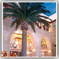 室内仿真海藻树 酒店装饰假树厂家直销图片