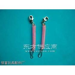 手机绳编法塑料弹簧圈图片