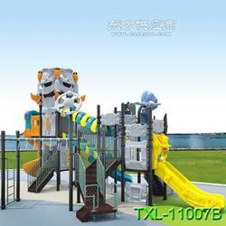 童欣乐加工生产儿童滑梯 塑料滑梯 工程塑料优质钢管图片