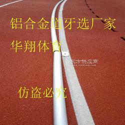 塑胶跑道道牙、不锈钢道牙、跑道内突沿、运动场塑胶跑道是否必须安装座道牙图片