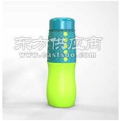 塑料水瓶运动水壶厂家食品级硅胶水壶图片