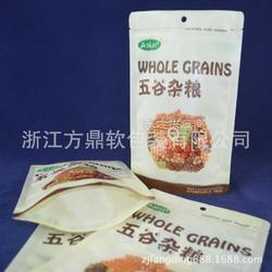 供应 杂粮包装袋 干果包装袋 自立自封复合袋 可印局部亚光图片