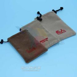 抽绳棉布袋定做-手提棉布袋厂家-充电宝束口绒布袋-远捷包装制品图片