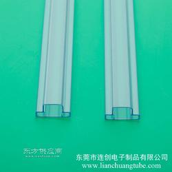 专业定做大功率LED包装管,连创LED料管,PVC包装管厂家图片
